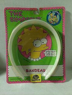 (TAS004206) - 1990 The Simpsons Bandeau Lisa Simpson