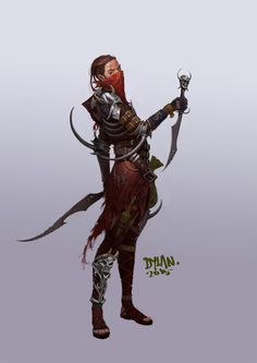 ArtStation - Thief, yongbin lee / dylan