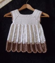 Crochet Pinafore Dress PDF Pattern Chains and by UniqueEarthling, £2.10 by teh33860