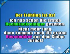 Bald kann man sie wieder überall hören! #Frühling #Sommer #Deutschland #Humor #lustig #Sprüche #Heuschnupfen #Sommerzeit #Statusbilder Humor