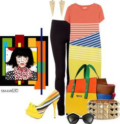 """""""Polka Dots and More"""" by tezza630 on Polyvore  02.27.2013"""