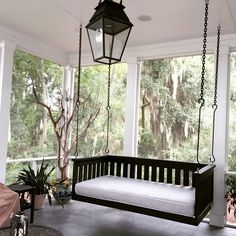 """This is our """"Windermere"""" swing design in a twin size, made of A-grade cedar. BUY ONLINE for $1725."""