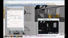 v-ray for rhino daylight setup (interior scene) tutorial.