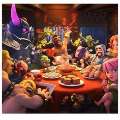 Celebrating the with this brand new loading screen! Princesa Clash Royale, Clash Of Clans Free, Clash Clans, Clash On, Hulk Avengers, Free Gems, Game Character, Mobile Wallpaper, Game Design