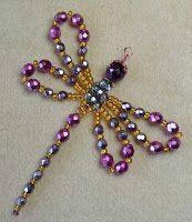 Little Beader: How To Make A Beaded Dragonfly