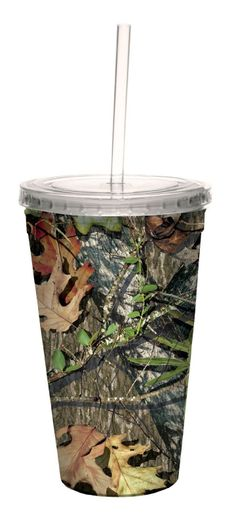 f606ad8d30e74 Mossy Oak Insulated Cup   Straw 20oz in Obsession House Appliances