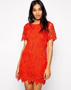 AX Paris Crochet Shift Dress