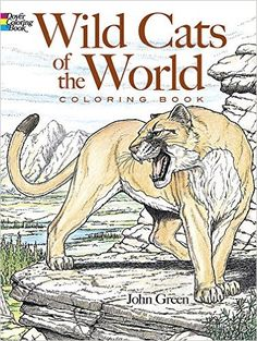 Wild Cats Of The World Coloring Book Dover Nature John Green