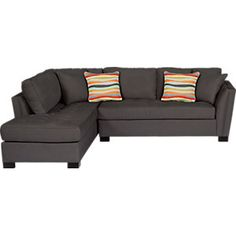 Cindy Crawford Home Calvin Heights Slate 2 Pc Sectional clicking on image will open up a modal window for this item