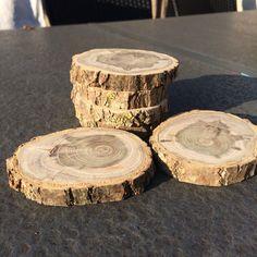 DIY onderzetter hout