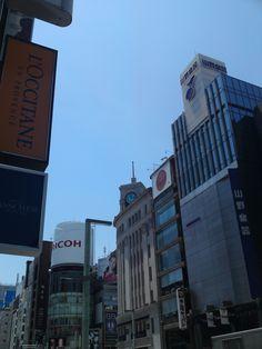 Ginza 4-chome view.  Ginza,Chuo-ku.