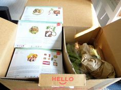 The Diary Of A Jewellery Lover : Gousto Food Box Review