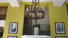 Gorgeous chandelier in the Ahwanee Lodge Hotel, Yosemite National Park