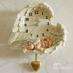 Beddinginn offers all kinds of Angel Wings.Buy reasonable price Angel Wings and you could save much money online. Clock Craft, Diy Clock, Mural Art, Wall Art, Murals, Plaster Walls, Clay Crafts, Resin Art, Paper Flowers