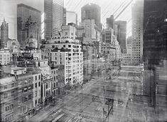 Michael Wesely, MoMa. Open Shutter Project. Exposure time: 2 years.