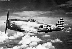 USAAF 45 49355 P 47D Thunderbolt 12AF 325FG 15AF