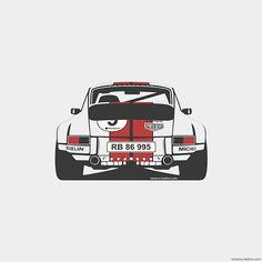 Remove-Before Limited Edition Classic Car Print - Porsche 911 Car Artwork Pub Vintage, Vintage Racing, Vintage Cars, Porsche 911, Automobile, Car Prints, Volkswagen, Car Man Cave, Car Illustration