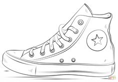 Take a Walk in my shoes- children will draw what it's like to be them. Converse Shoes | Super Coloring