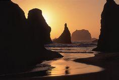 Bandon Beach, Oregon, USA.