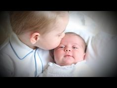 Prince George, Princess Charlotte Shown Together for the 1st Time - YouTube