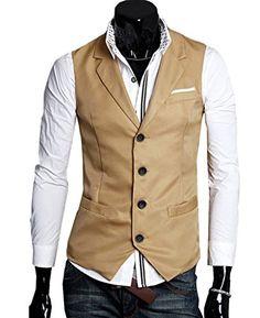 Merryfun men's solid color casual waistcoat side pocket l... https://www.amazon.com/dp/B013Q4OP8E/ref=cm_sw_r_pi_dp_raAFxbV6KZP7T