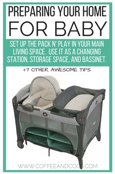 8 Genius Ways to Prepare your Home for Baby! Babies need more than just a nursery. Use these 8 simple hacks to get your house baby ready in no time! Simplify life with your newborn with these simple tips.