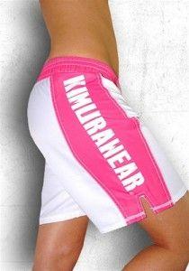Kimurawear Women's MMA Shorts - Pro Series (Pink)