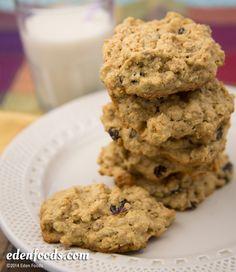 Muesli Cookies #EdenFoods