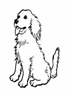 Hunde Ausmalbilder Zum Ausdrucken Kostenlos - Vorlagen zum