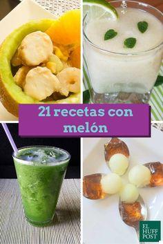 21 recetas con melón para saborear el verano al máximo