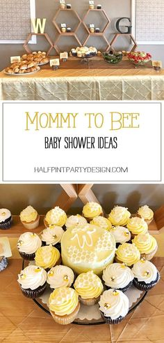 ""\""""Sweet as can Bee"""" is the perfect baby shower theme for that Mommy to Bee in your life. Also works well for a """"Happy bee-day"""" bee themed birthday party or a """"What will baby bee? Featured on Halfpint Party Design. Mommy To Bee, Office Baby Showers, Baby Shower Parties, Baby Shower Yellow, Baby Boy Shower, Babyshower Party, Baby Gender Reveal Party, Bee Gender Reveal, Gender Reveal Themes""236|491|?|en|2|bf1ef5abbef2d405992b45ab92890610|False|UNLIKELY|0.3063991963863373