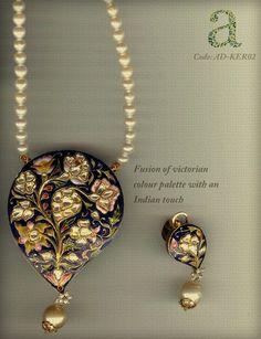 Meenakari jewellery