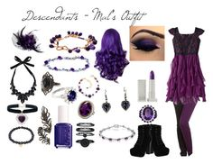 """Descendants - Mal's Outfit"" by insanitydemonic on Polyvore"
