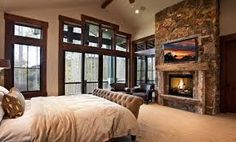 RUSTIC CONTEMPORARY FIRE PLACES - Google Search
