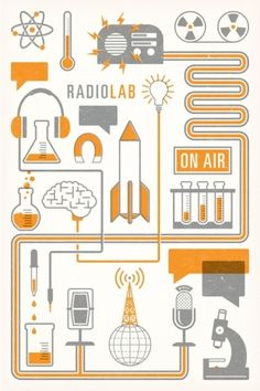 Love me some Radio Lab thequietsociety.com/blog   The Creative Work of Brian Hurst in Illustration