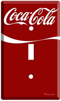 Coca-Cola - fl oz Cans Switch Plate Covers, Light Switch Plates, Light Switch Covers, Coca Cola Light, Coca Cola Decor, Coca Cola Kitchen, Always Coca Cola, Diet Coke, Necklaces
