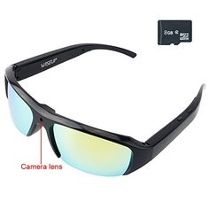 a5afc5b244 Wiseup 8GB 1920x1080P HD Hidden Camera Video Glasses DV Camcorder Eyewear  with Audio Recording    · Latest Tech GadgetsSpy ...