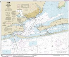 Official Noaa Chart of Pensacola Bay 11383 by HyannisMarina