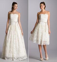 littlepinkbook wedding dress reception ideas