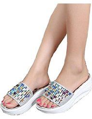 Amiley Women Bling Non-Slip Slide Sandals Platform Beach Slipper Slide On Shoes by Amiley $19.96 Show only Amiley items