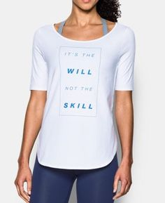 Women's UA Essential It's The Will Demi T-Shirt LIMITED TIME: FREE SHIPPING 3…