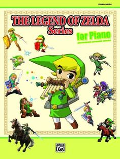 Bestseller Books Online The Legend of Zelda Series for Piano: Intermediate-Advanced Edition  $13.59  - http://www.ebooknetworking.net/books_detail-0739082965.html