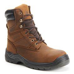 Itasca Authority Men's 8-in. Waterproof Work Boots, Size: medium (11), Brown