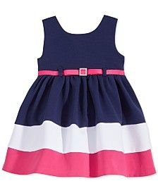 Baby Girl Clothes at Macy's come in a variety of styles and sizes. Shop Baby Girl Clothing at Macy's and find newborn girl clothes, toddler girl clothes, baby dresses and more. Newborn Girl Outfits, Toddler Girl Outfits, Toddler Dress, Kids Outfits, Baby Girl Party Dresses, Little Girl Dresses, Baby Dress, Girls Dresses, Dress Party