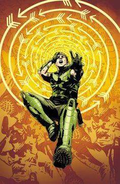 GREEN ARROW #22 - Art and cover by ANDREA SORRENTINO