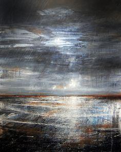Anthony Garratt, Brighton Old Pier Study, 1 x 0.7m