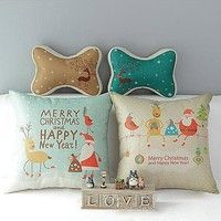 Material:  Linen Color: Blue?Brown?Two Color for your choice) Size:42x42cm/16.53''X16.53''(appr.? Pa