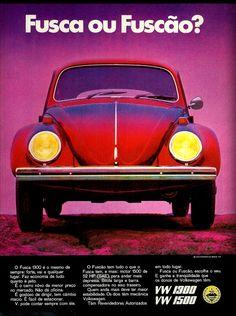 Anúncio VW 1300 e 1500 - 1970