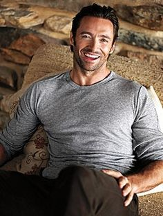 Hugh Jackman - Click image to find more Celebrities Pinterest pins