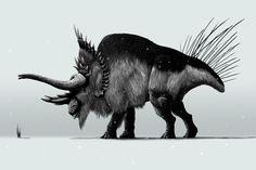 Bildresultat för snow animal concept art